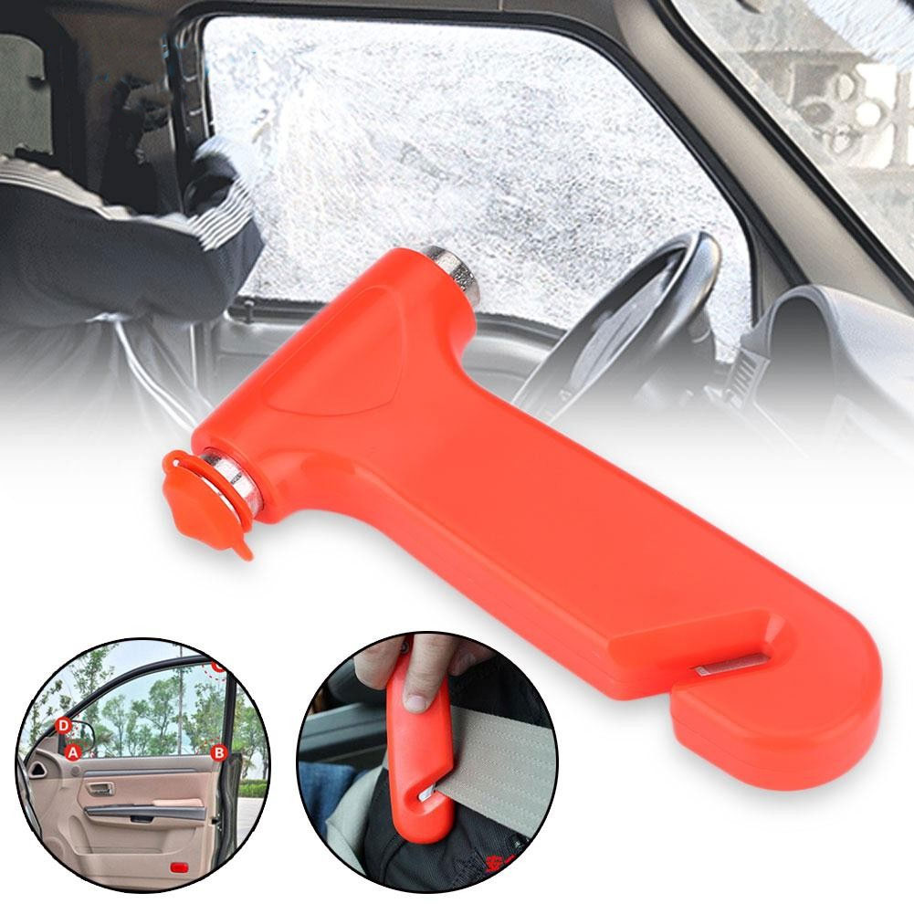 Car Window Breaker With Seat Belt Cutter