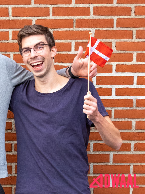 Andreas' flotte overskæg Den 6. movember