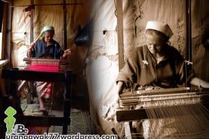 menenun songket pandai sikek