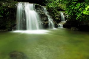 air terjun babang