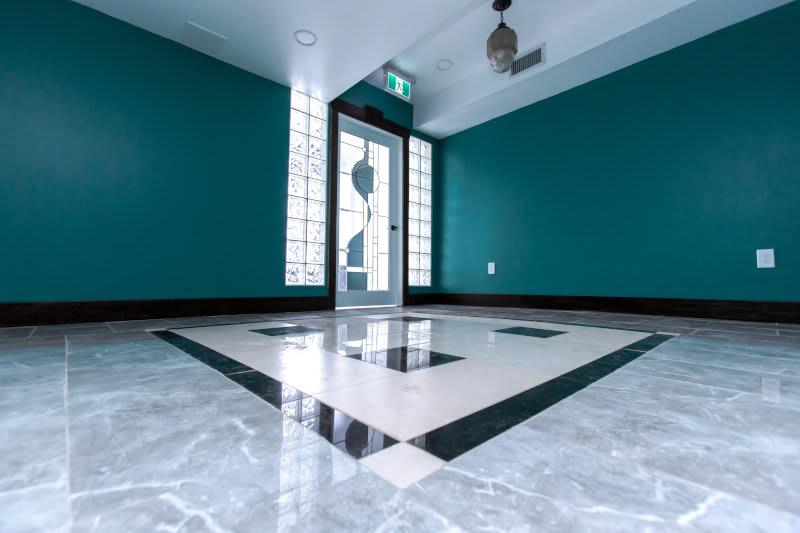 indoor second floor view