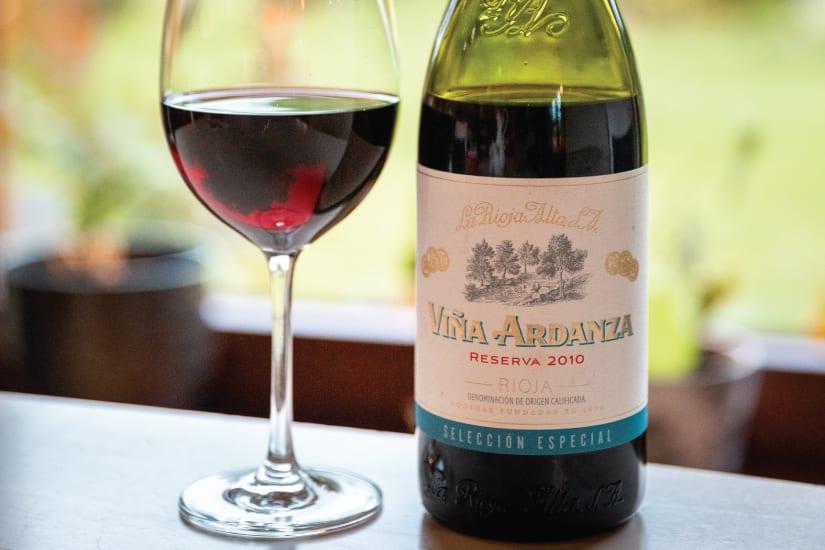 rioja reserva vinflaska