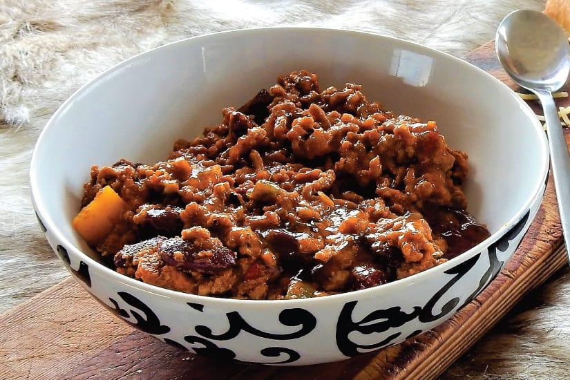 chili on carne