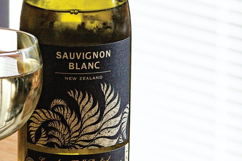 sauvignon blanc vinflaska