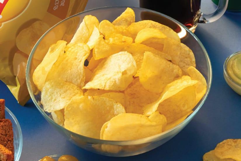 chips served on bowl