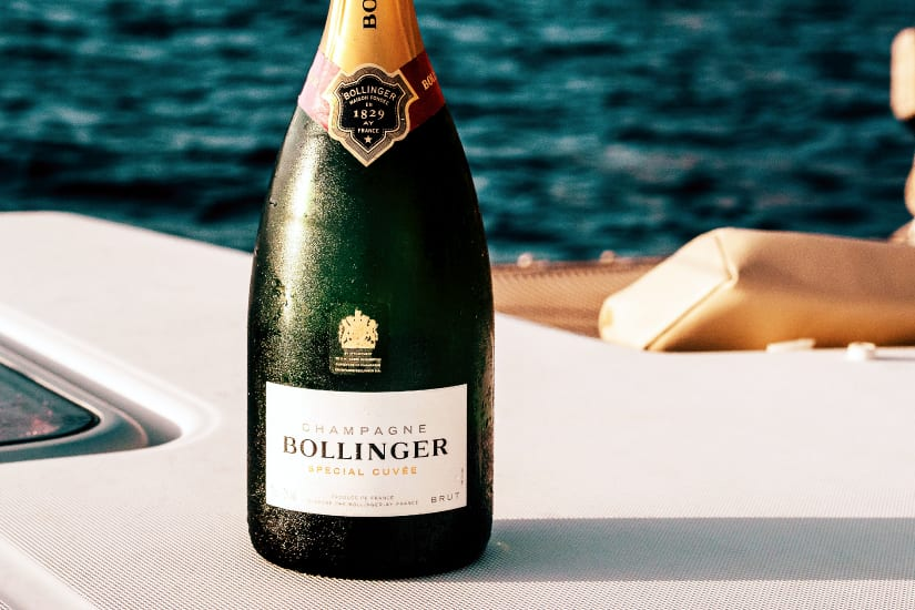 non-vintage champagne
