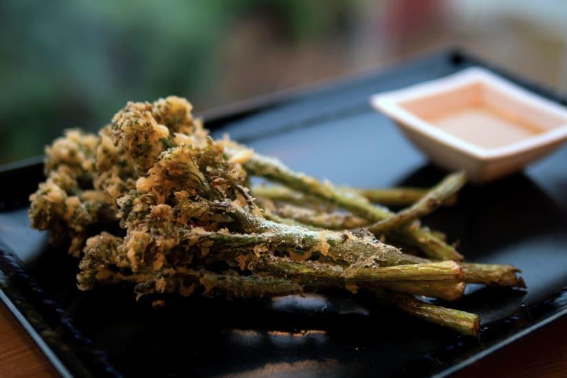 deep-fried vegetables