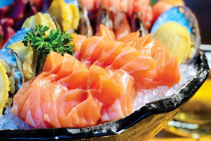 different types of sashimi