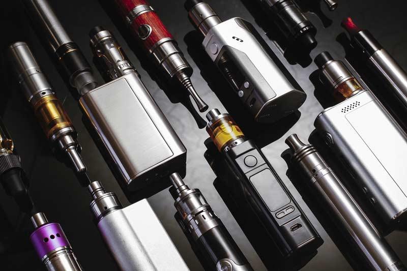 Multiple e-cig products