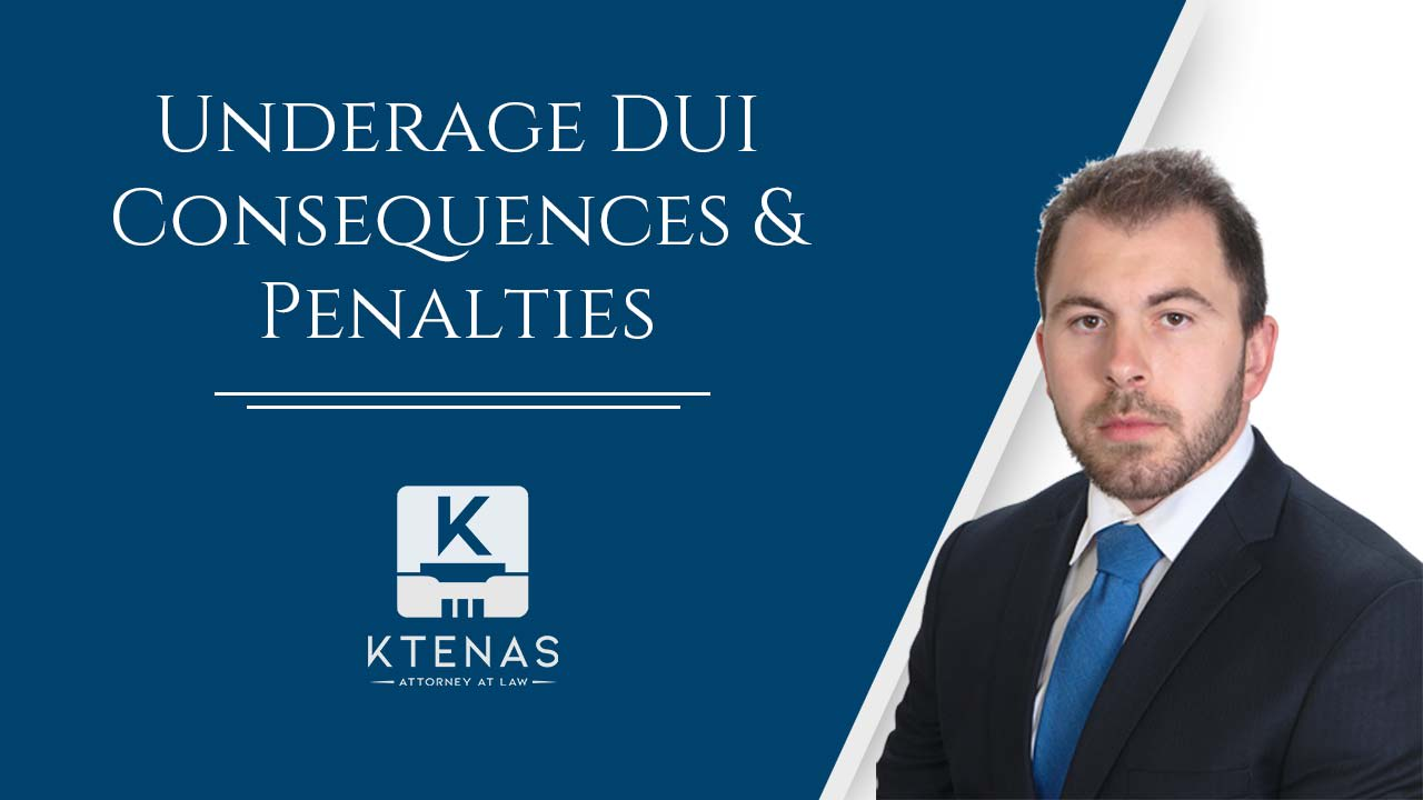 Underage DUI Penalties