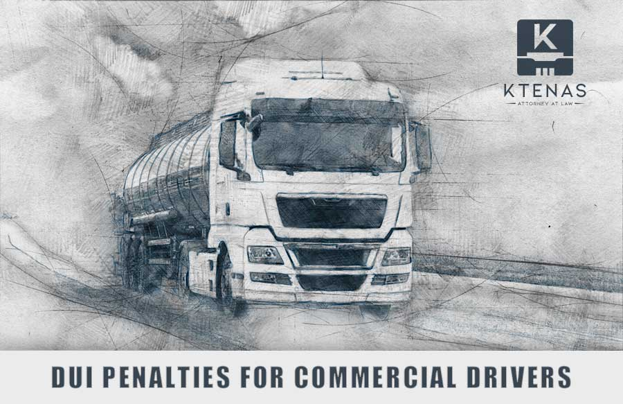 DUI penalties for CDL drivers