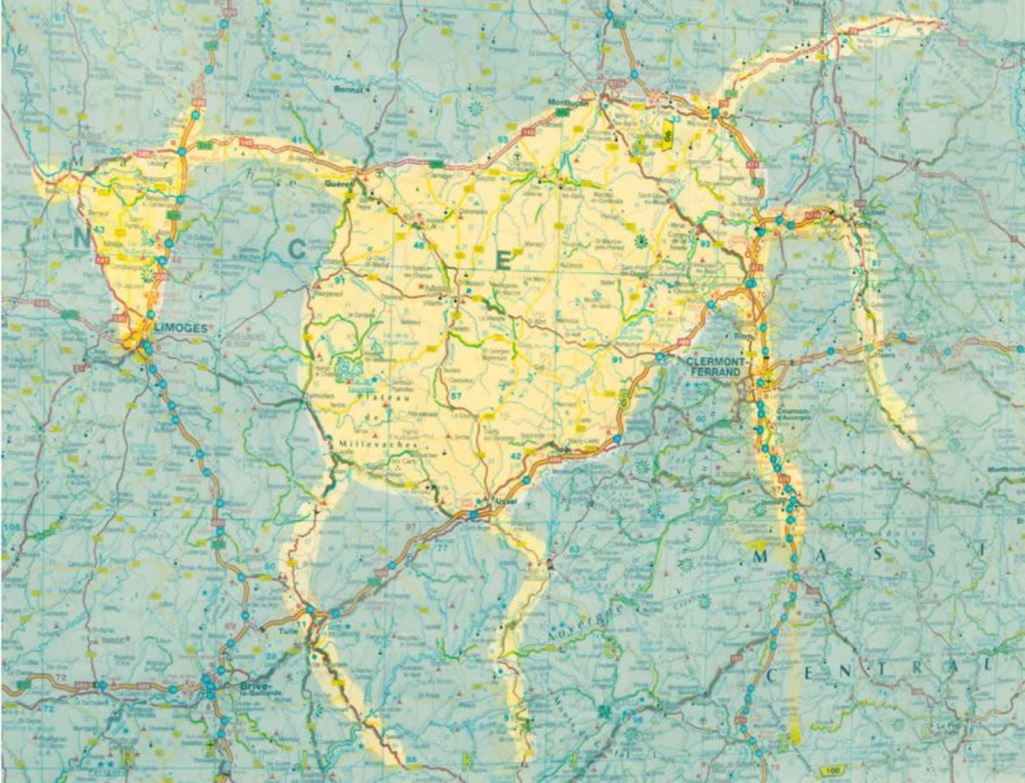BY PLACING ALL OF THE CARS IN THE   WORLD NEXT TO EACH OTHER,   YOU COULD FILL BELGIUM 256 TIMES, ,