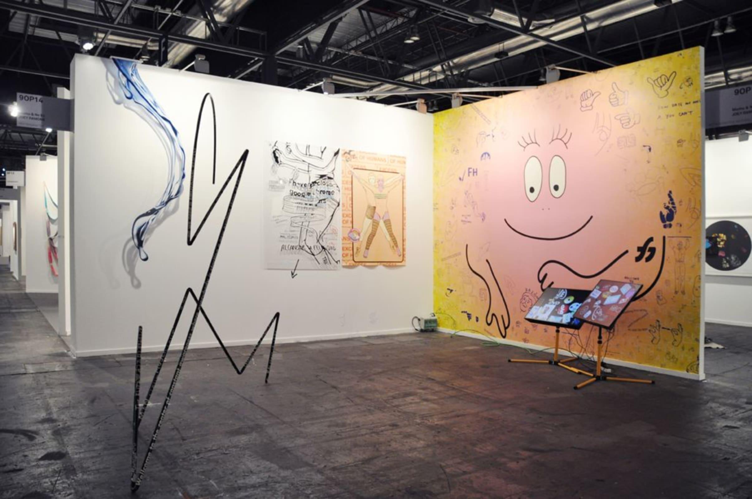 Art Rotterdam 2019, Momu & No Es,