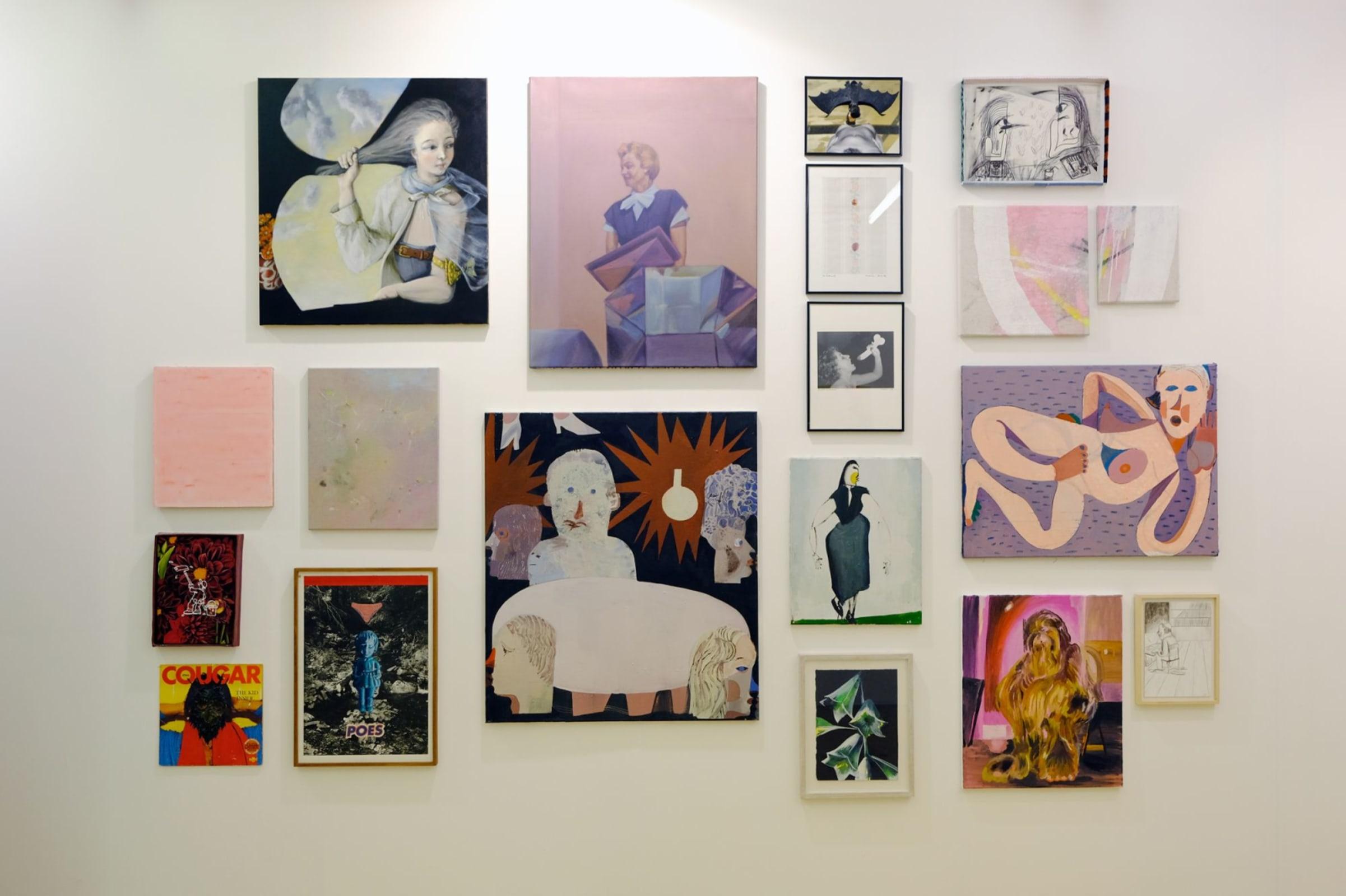 Art Rotterdam 2019, Pieter Jennes, Bendt Eyckermans, Gommaar Gilliams, Catharina Dhaen, Charline Tyberghein,