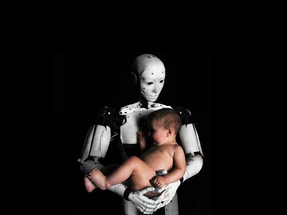 Robot Love in Campina melkfabriek Eindhoven