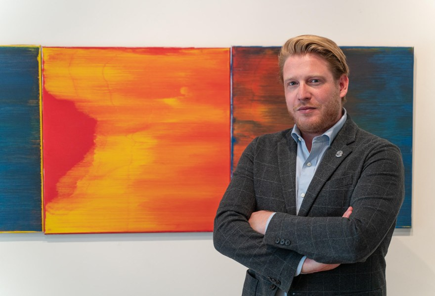 Ask an Art Collector... Luuk Hoogewerf