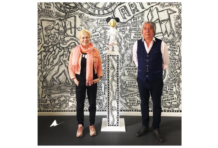 De galerie van... Tom van den Berge en Joyce van Elzakker
