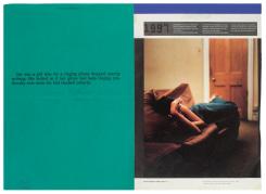 Marijn van Kreij, Untitled (A Perfect Day for Bananafish, Television Portrait, J.D. Salinger, Paul Graham)