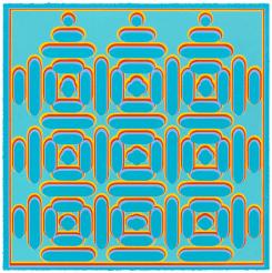 Dan Walsh, Manifold (Blue)