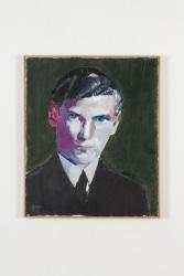 Alex van Warmerdam, Man met groene achtergrond