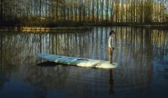 Ellen Kooi, Nieuwe Meer - surfplank