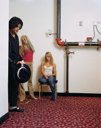 Dana Lixenberg, Michael, Christina & Britney (Impersonators), 2004