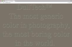 Constant Dullaart, DullBrownTM
