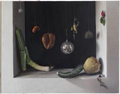 Michael Kirkham, Still Leben: Disko Gemüse