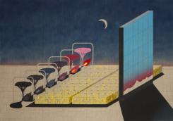 Raymond Barion, Landscape (Mattresses)