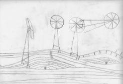 Dirk Zoete, Windmills and Landscape