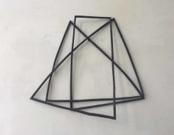 Sjoerd Buisman, gesloten silphium spiraal, ouroboros, diagonaal