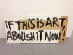 Jeroen Jongeleen, If this is Art (No Style, [public comments on art])
