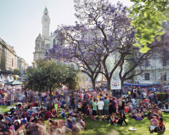 Martin Roemers, Plaza de Mayo, Barrio de Montserrat, Buenos Aires, Argentina
