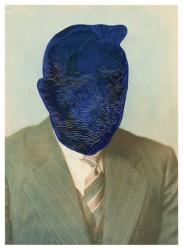 Julie Cockburn, blue face