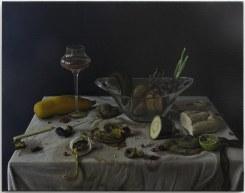 """Michael Kirkham, Still Leben """"Obst und Gemüse ,Frisch und Verdorben #2"""