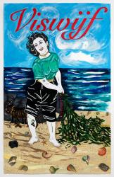 Kathe Burkhart, Viswijf: from the Liz Taylor Series (publicity still)