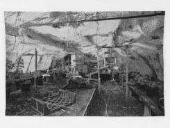Frans Beerens, Houtje touwtje kas in Owermoigne (Engeland)