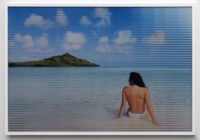 Constant Dullaart, Jennifer in Paradise (Halftonepattern_Line)
