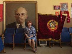 Jan Banning, Communistische Partij van de Russische Federatie: kantoor van het lokale partijcomité in Torzhok, provincie Tver. Eerste secretaris Olga Volnina