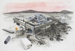 Charles Avery, Untitled (Raft)
