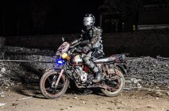 Jan Hoek, The Ghost Rider