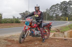 Jan Hoek, The Red Devil Rider