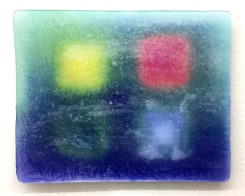 Daan den Houter, Ice painting lambda print