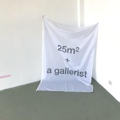 Nokukhanya Langa, 25m2 + a gallerist
