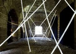 David DiMichele, Light rods installation Mantova