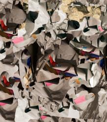 Nico Krijno, Pattern Study with Paper