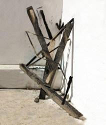 Nico Krijno, Sculpture Study with Burnt Wood 02