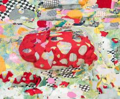 Nico Krijno, Pattern Study with Fabric