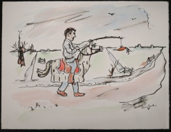 Teun Hocks, Drawing, Untitled