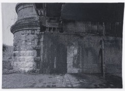 Frans Beerens, Het viaduct onder de Hefbrug in Rotterdam (Nederland)